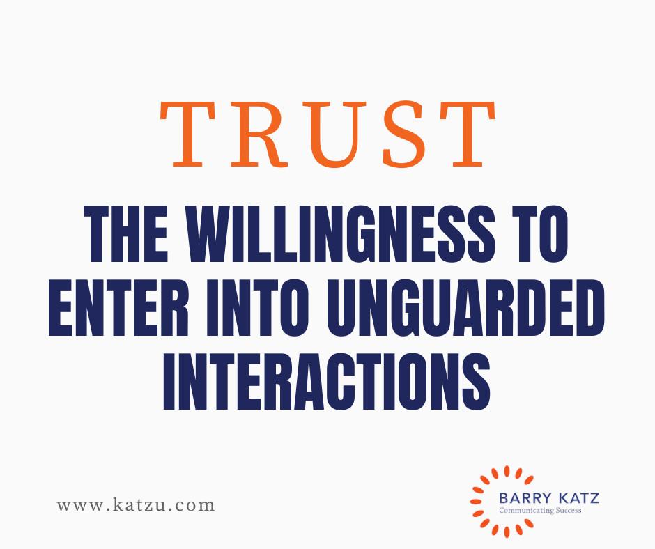 5 C's of Building Trust