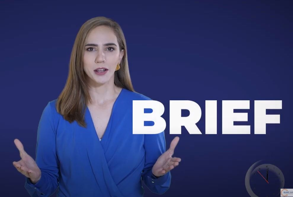 Be Brief Be Brilliant Be Gone